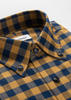 Sport shirt Orange & Navy Check Sport Shirt