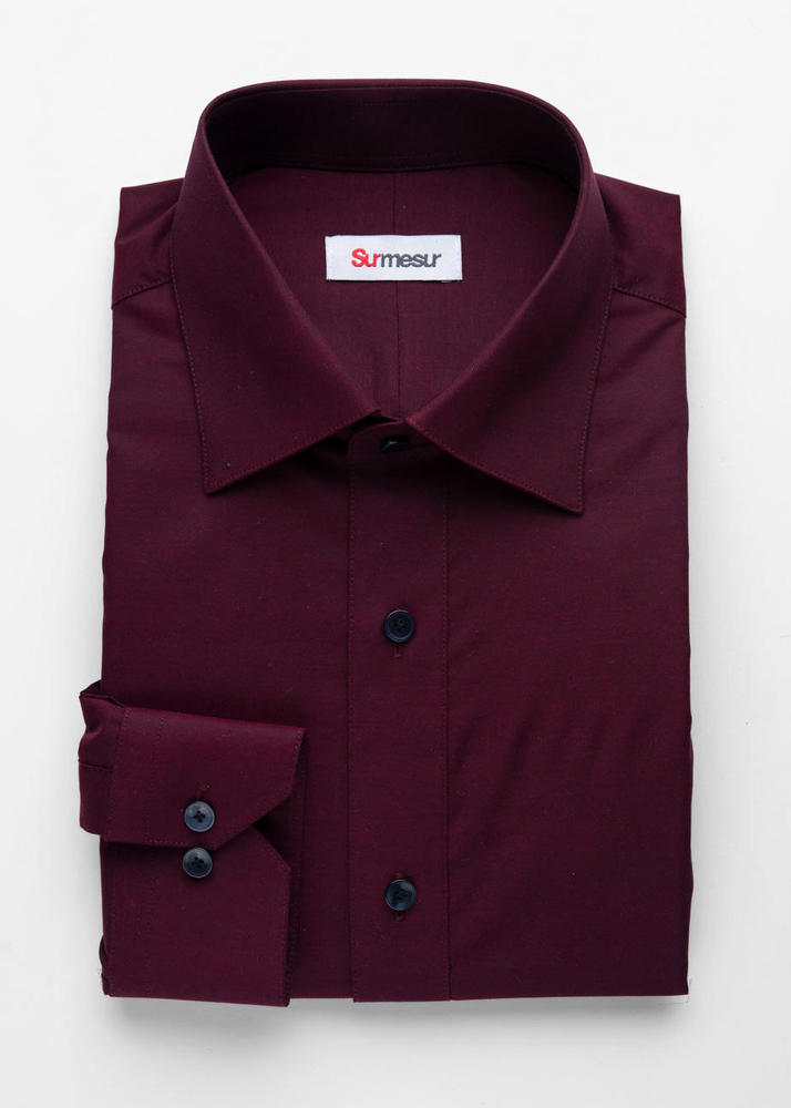 Dress shirt Burgundy Shirt