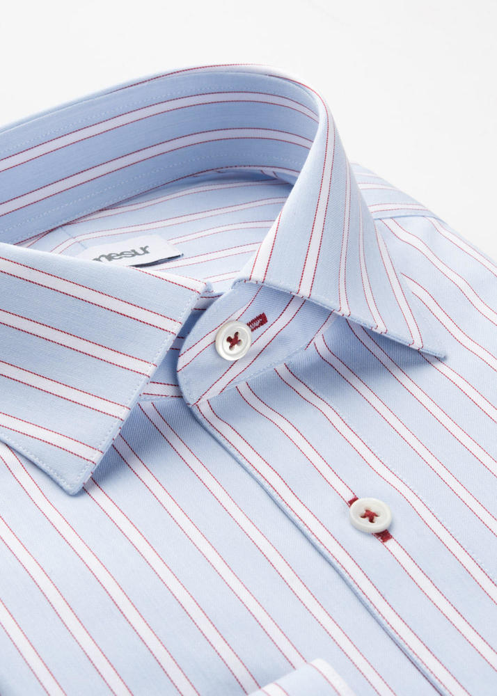 Dress shirt Light Blue Striped Shirt