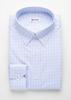 Chemise habillée Chemise classique à carreaux bleus