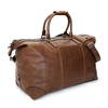 Leather bag The Weekender - Walnut