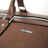 SALE - Leather bag The Weekender - Walnut