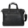 Leather bag The Portfolio - Black