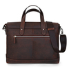 Leather bag The Portfolio - Espresso
