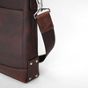 SALE - Leather bag The Portfolio - Espresso