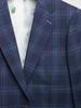 Suit Blue Plaid Wool Suit