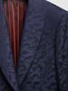 Jacket Navy Jacquard Tuxedo Jacket