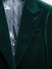 Jacket Dark Green Velvet Dinner Jacket