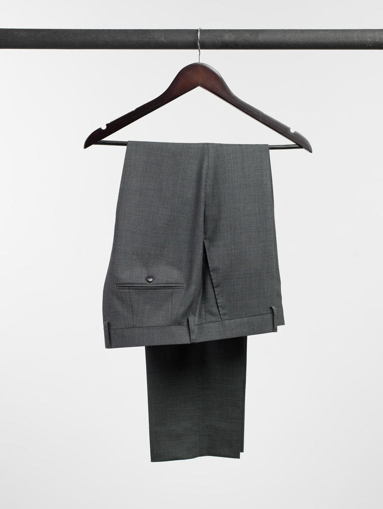 Trousers Spanish Grey Wool Trousers